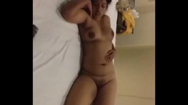 Telugu Aunty Sleeping Nude In Hotel Room After Sex
