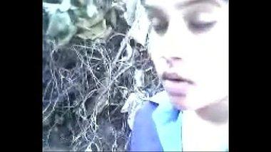 Pressing Boobs Of Dasi In Jungle