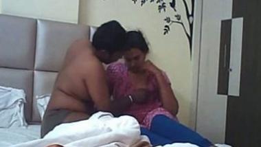 Hidden cam home sex scandal of Indian bhabhi with devar