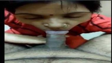 Bangalore's Sexy Bhabhi Eating Penis Of Her Secret Lover