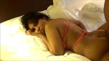 Hard anal sex of a busty bhabhi in hotel
