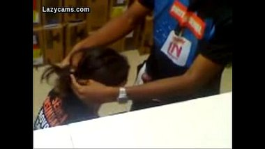 Indian Hidden Cam Showing Blowjob In Store