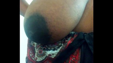 Indian Aunty Showing Off Her Big Breasts
