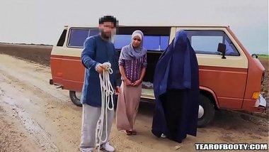 Hot Blowjob By An Arab Sex Slave