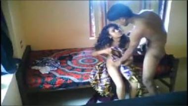 Sexy School Girl Enjoying Her Cousin Secretly