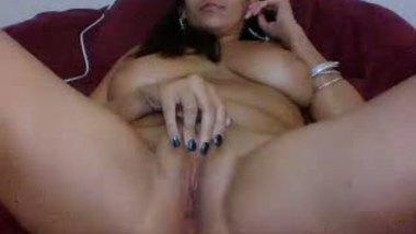 Nri flaunts big boobs & fat pussy on webcam live