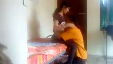 Hidden cam video of young girl in village home sex