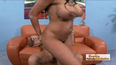 Big boobs Indian Bangali porn star do blowjob and hardcore fuck