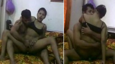 Desi harami Indian Mami rides and fucks to Bhanja
