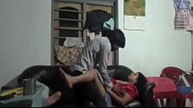 Chacha fucks Bua captured on the hidden cam
