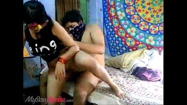 Indian desi porn of Aunty of Big Doodh fucks Student