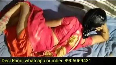 Saree mai gori mami aur kaale bhanje ki Hindi blue film