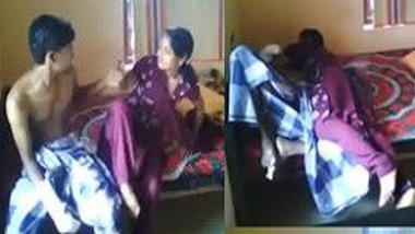 My married elder sister do desi erotic foreplay with me