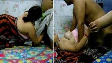 MMS of my desi Chacha fucks Mami in Indian porn