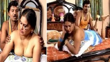 Indian desi bhabhi is very naughty in foreplay