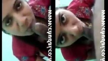 Indian free college porn of girlfriend gives hot blowjob