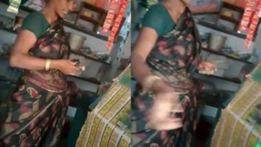 Shop Owner Tamil Aunty fucking In Doggy Style