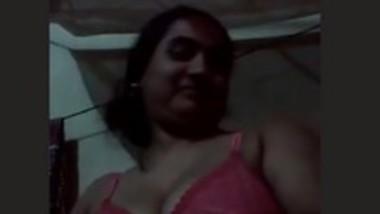 Cute Big Boobs Babe On Video Call
