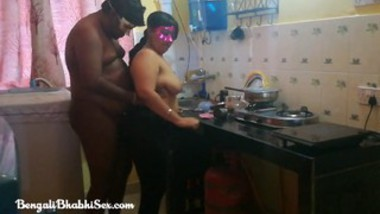 Desi wife fucking kitchen room