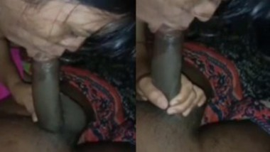 Desi Married Village Bhabi sucking Husband Big Dick