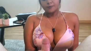 busty british slut sucking cock
