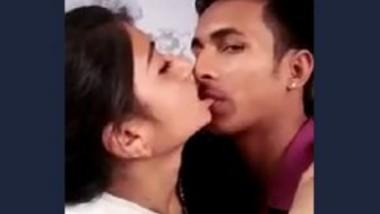 Desi Lovers Smooching