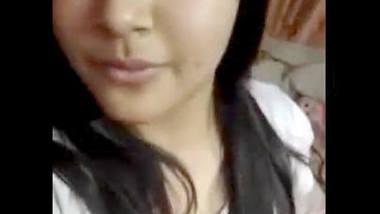 Desi beautiful girl show her big boob selfie cam video