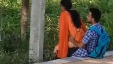 Desi collage lover fucking in park