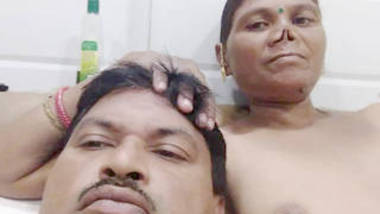 Indian wife fucking with husband