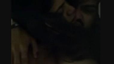 Horny couple fucking hard