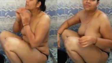 Bahbi bathing Video Record By Hubby