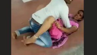 Lovers Caught Fucking Inside Temple
