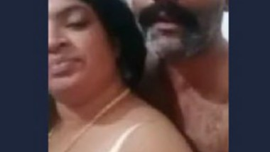 Wife showing boobs to boss for promotion
