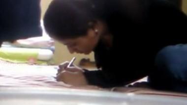 Cute Desi Girl Blowjob and Ridding Teacher Dick