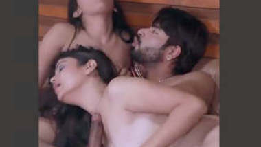 Indian Super hot Threesome Sex Vdo Part 2