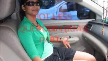 While other drivers work Desi guy has something more XXX to do - drilling Bhabhi