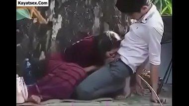 Nepali Girl's Outdoor Sex Caught In Hidden Cam