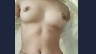 Cute girl removing dress and show boob