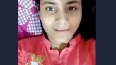 Desi cute girl selfie video making