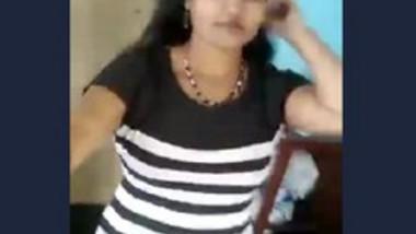 Cute Tamil Wife Strip Tease