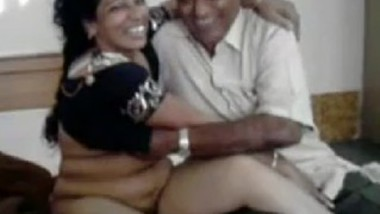 Hot desi milf with old man