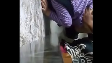 Indian school girl having a doggy sex