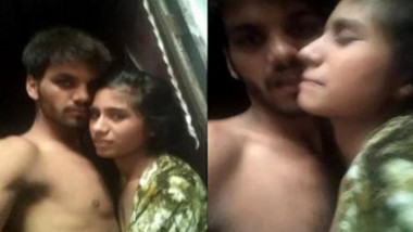 Guy is in the mood to film a porn video with shy Indian girlfriend