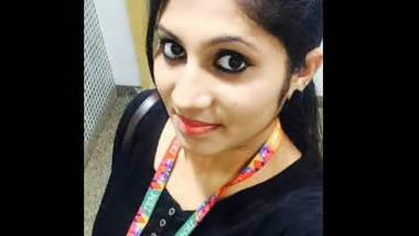 Beautiful girl remove dress selfie cam video