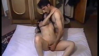 Desi man ready to arrange a XXX action for his loved Bhabhi on the floor