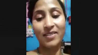 Bhabi Make Video For Hubby With Talk