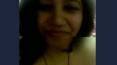 Chubby desi married aunt boobs and tits show in video call leaked by lover guy