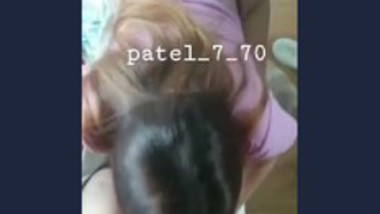 Desi cute girl sucking lover cock