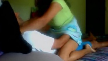 Nri wife riding her mature hubby with audio mms clip