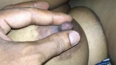 Desi tamil girl sucking cock and lover playing her big boos mms clip